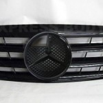 ALL BLACK GRILLE FITS AMG $250