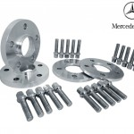 (2) 10mm & (2) 20mm Mercedes Benz Hub Centric Wheel Spacers Kit W/ Lug Bolts $200