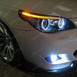 Ultra Bright 7000K White LED Angel Eye Halo Rim Bulb $80  LED Fog Lights Bulbs $60