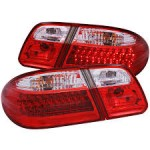 "RED CLEAR ""L.E.D."" TAIL LIGHTS LED 4PCS $300"